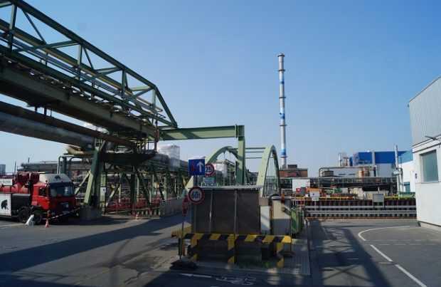 Fundición Aurubis, Hamburgo, Alemania. Foto: Gentileza Ministerio de Minería.