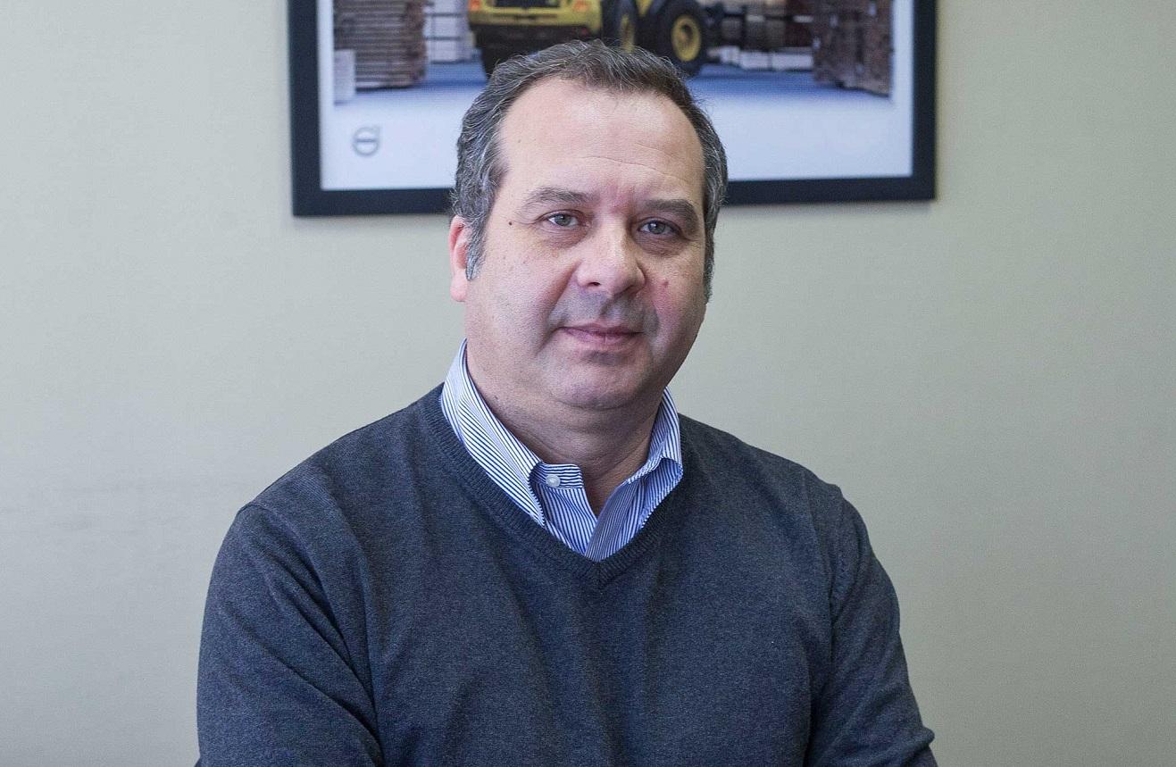 Jorge Ríos, gerente de Ventas de SKC Maquinarias