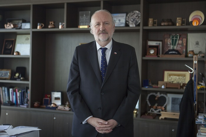 Ministro de Minería, Baldo Prokurica
