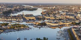 Vista aérea de Estocolmo (Foro: Henrik Trygg/mediabank.visitstockholm.com)
