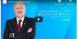 Cuenta Pública del Ministerio de Minería