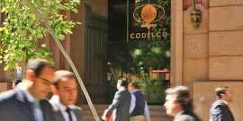 31 de mayo de 2012, Fachada Edificio Corporativo Codelco. Foto: Juan Carlos Recabal / MCH