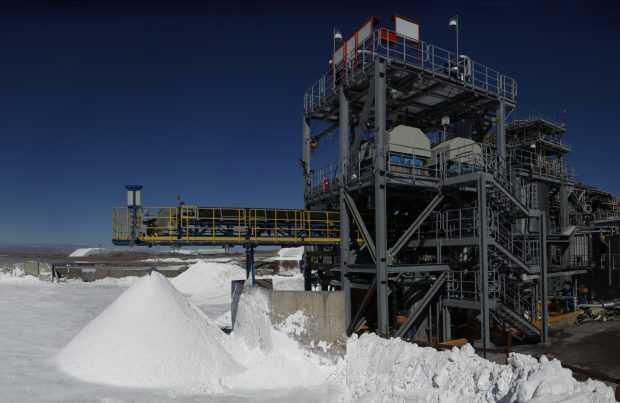 Instalaciones de SQM en el Salar de Atacama