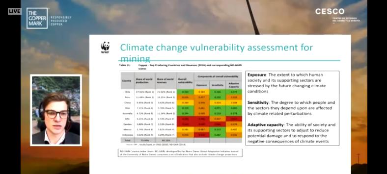 Cambio climático: Los riesgos que comparten la industria minera y la automotriz